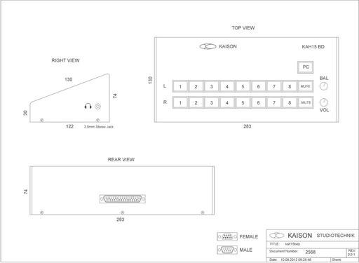 Desktop Monitor KAH15