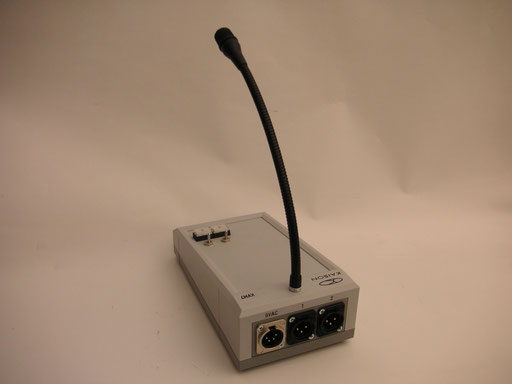 Microphone Station KVM7 rear