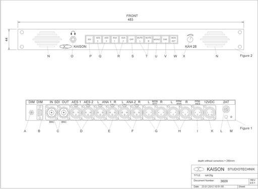 SDI Monitor KAH28