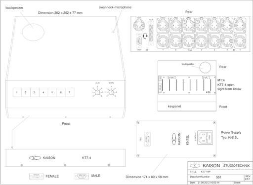 Desktop Station KT7-44
