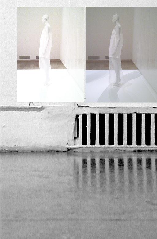 """collage  """"Büßerinnenkleid""""   20180629fra"""