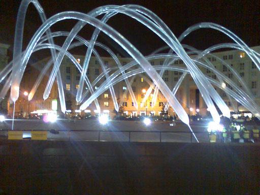 Oscar Piene, Nuit blanche, Place de Catalogne, Paris 20081004fra