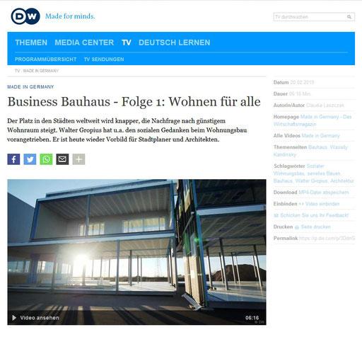 von Claudia Laszczak  DW-TV / DEUTSCHE WELLE Redaktion Wirtschaft und Wissenschaft