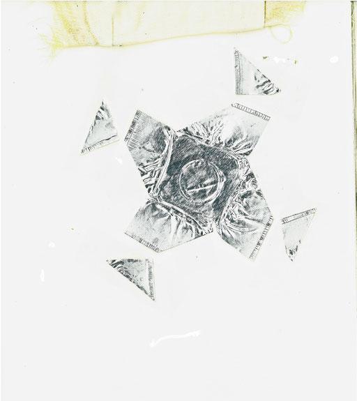 Strohstern aus Metall 20191201fra