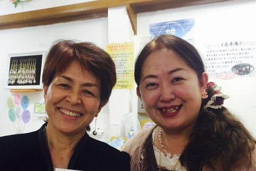 高津優恵(たかつゆうけい)先生と師匠の高津りえ先生