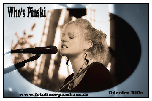 Woh's Pinski  Insa Reischwein Rockband aus Köln