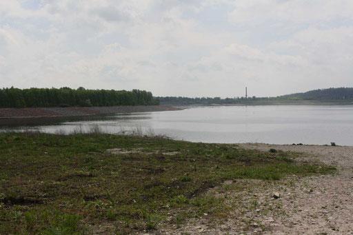 neue Seenlandschaft bei Blösien, 2010