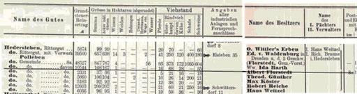 Auszug aus dem Adressbuch der Provinz Sachsen 1906