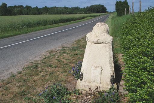 La borne Vauthier de Ville-sur-Ancre
