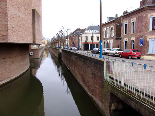 Vue générale de la rue des Archers- Amiens