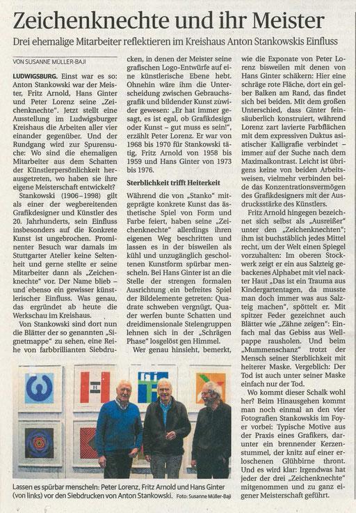 Ludwigsburger Kreiszeitung 13.02.2019