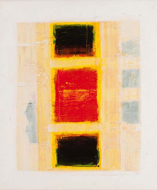 """o.T."", 2005, Acryl auf Leinwand, 50 x 60 cm"