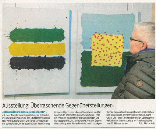 Bietigheimer Kreiszeitung  16.02.2019