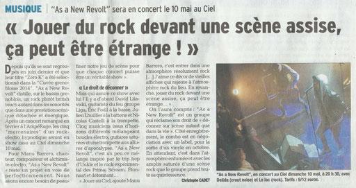 Le Dauphiné Libéré - 08/05/2014