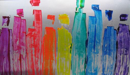 Nr. 170  ohne Titel  2011  41 x 71 cm