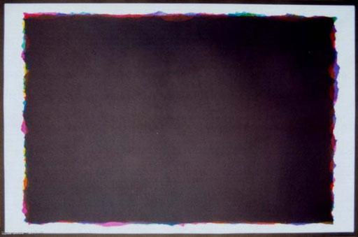 Poster Nr.7  1996  7-farbiger Offsetdruck  70 x 100 cm