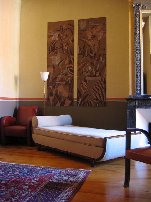 cabinet d 39 un psychiatre toulouse herve cluson d corateur architecte decoration createur chaux. Black Bedroom Furniture Sets. Home Design Ideas