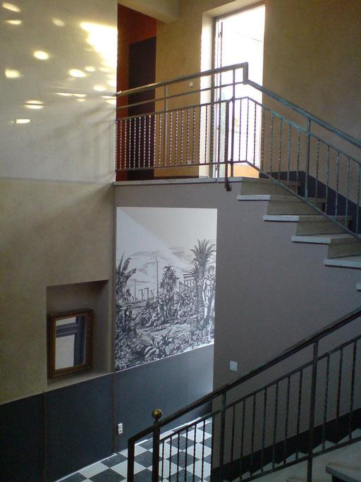 hall d'entrée - vue d'ensemble
