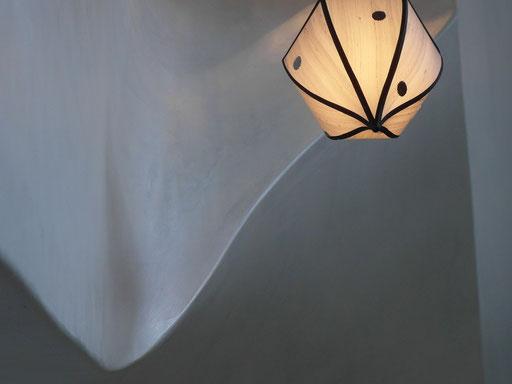 Cage d'escalier-détail-hommage à Gaudi