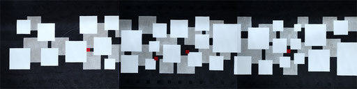 To morrow 1-3   P10×3   1590mm×410mm(3pieces)   Acrylic 2012