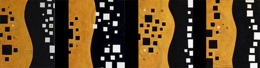 Elegante Four seasons    F3×4   1092mm×273mm(4pieces) Acrylic 2011