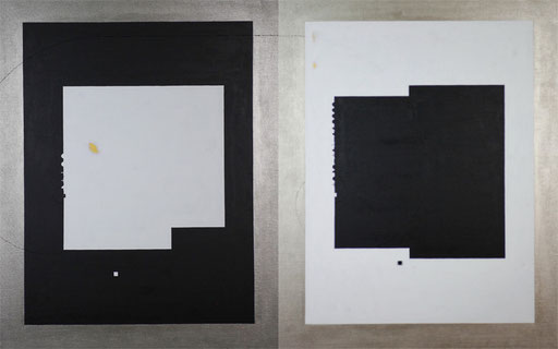 Body & Image 17  1454mm×910mm  (727mm×910mm each)  F30×2  Acrylic 2014