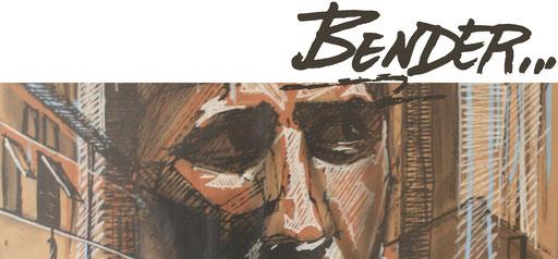 Bender BNDR Galerie urbanes Leipzig