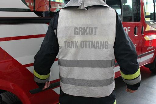 Überwurf Gruppenkommandant z.B. Tank Ottnang