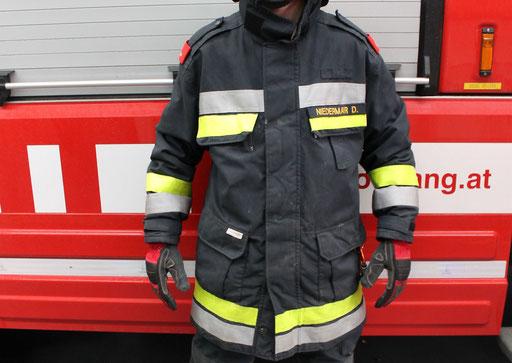 Schutzjacke seamTEX + Handschuhe Rosenbauer Rescue 2