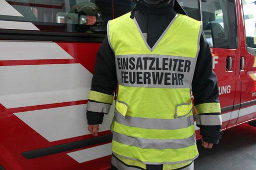 Überwurf Feuerwehr-Einsatzleiter