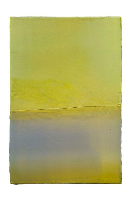 Engramm 99 | 2012 | Acrylfarbe, Kunststoffsiegel, Ölfarbe auf MDF | 30 x 20 cm