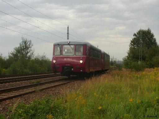Am 21. August 2011 war 172 171-1 und 172 132-3 bei der Lokparade des 21. Heizhausfestes im SEM Chemnitz zu sehen