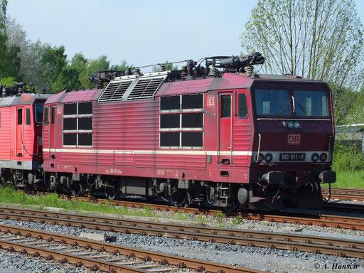 Mit ihr verschwinden die schönen altroten Maschinen nun wahrscheinlich entgültig von Deutschlands Gleisen
