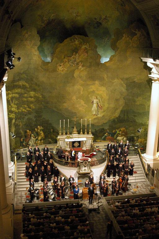 Konzert in der Stadtkirche Ludwigslust (Foto: Monika Lawrenz)