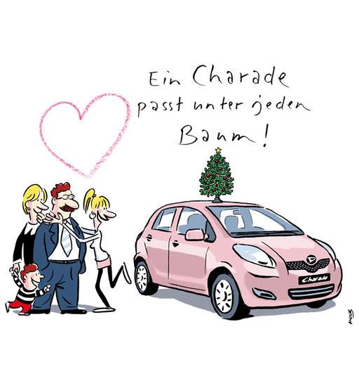 Illustration von Mock zum Thema Auto
