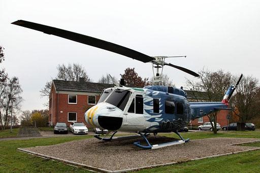 """Gate Guard LTG 63 Hohn - Bell UH-1D 71+57 """"special cs"""""""
