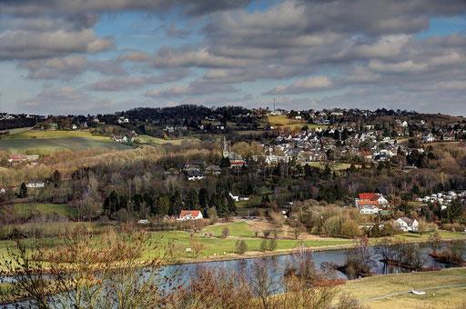 "Ruhrtal ""Blick"" auf Bochum Stiepel"