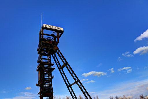 Wattenscheid - Förderturm der ehemaligen Zeche Holland