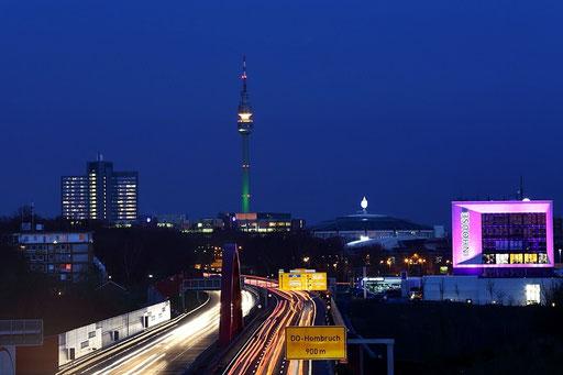"""Pulsader"" in Dortmund - B1 Schnettkerbrücke"