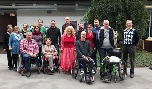 Mitglieder des Vereins bei der JHV 2016