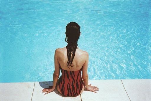 Schwimmen mit beinamputation