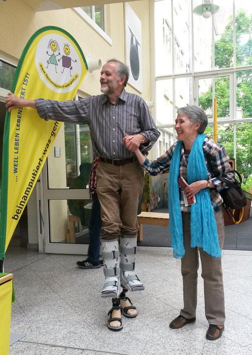 Bild: Prothesen laufen