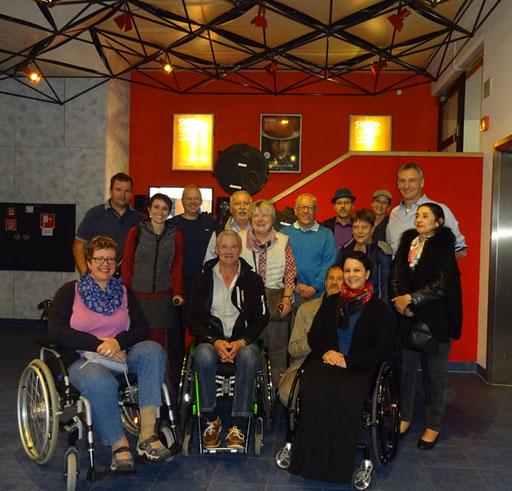 Gruppenfoto der SWR Führung in Baden Baden