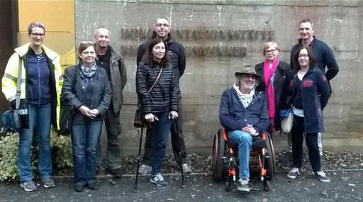 Foto der Gruppe beim Regierungsbunker Bad Neuenahr-Ahrweiler