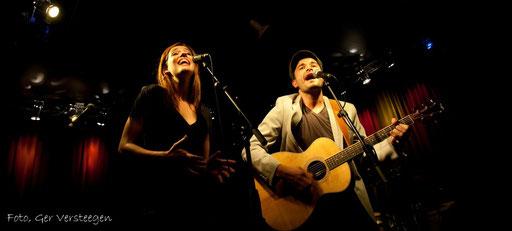 Rene en Joep van Wegberg, optreden in Cambrinus.