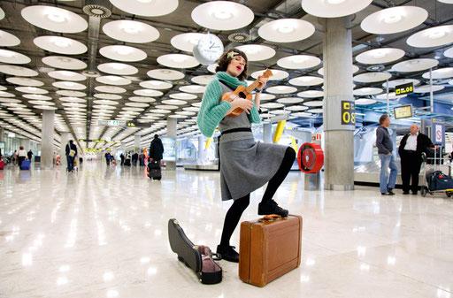 Susie Asado, OnwardAeropuerto, Baggage Claim © Anja Conrad