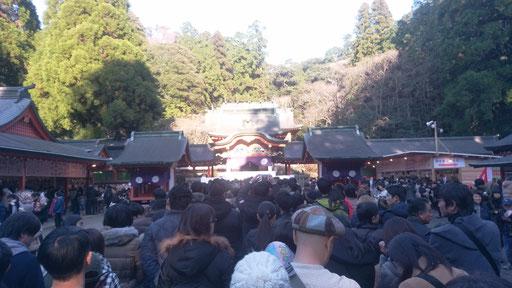 神社お正月の様子