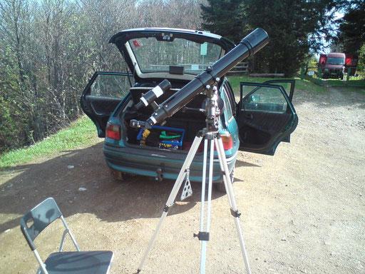 Sonnenfotografie Schauinsland