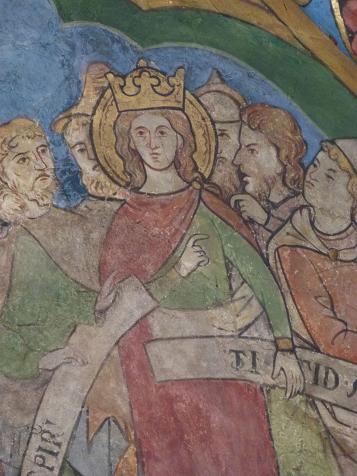 Katharina von alexandrien Sankt Maria in Lyskirchen Benjamin Marx Fresken Romanik