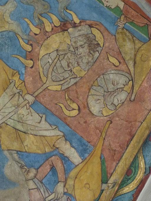 Katharina von Alexandrien Sankt Maria in Lyskirchen Benjamin Marx Romanik Fresken Lyskirchen Koeln